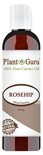 Rosehip Oil 4 oz. Refined and Deodorized 100% Pure Natural - Skin, Body And Face. Great for Hair Growth & More!