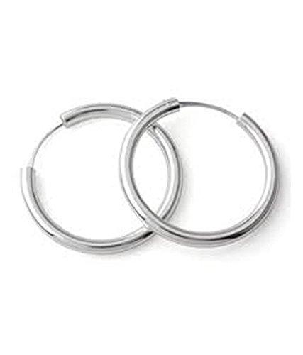 Buy Eloish Sterling Silver Small Hoop Earrings For Kids Men And