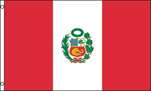 Peru Flag 2x3ft Poly