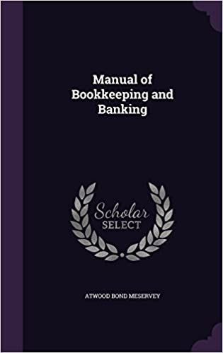 Manual of Bookkeeping and Banking