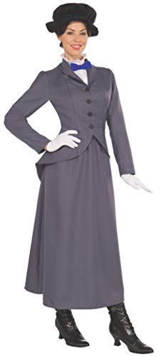 Mary Poppins Costumes For Sale - Forum Novelties English Nanny Costume, Gray,