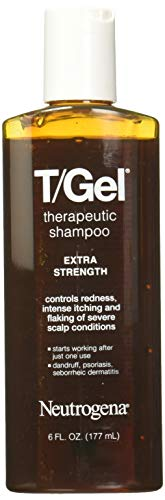 Neutrogena T Gel Extra Strength Therapeutic Shampoo, 6 Fluid Ounce - 24 per case.