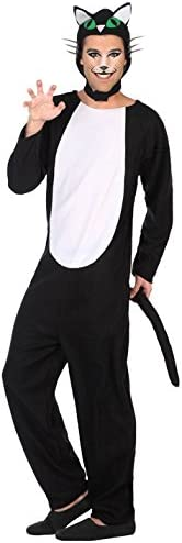 Atosa-38768 Disfraz Gato, Color Negro, M-L (38768): Amazon.es ...