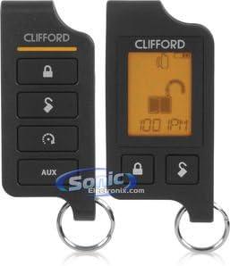 Clifford 470.6X 2-Way Responder Remote Start System w// Keyless Entry