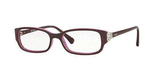 - Vogue VO5059B Eyeglass Frames 2321-50 - Top Eggplant On Pink