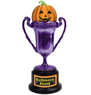 Amscan - Halloween Award Trophy with Asst. Labels