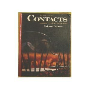 Contacts: Langue Et Culture Francaises/Book and 1 Audio Cassette (English and French Edition)