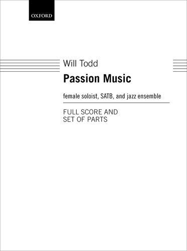 - Passion Music: Score and parts