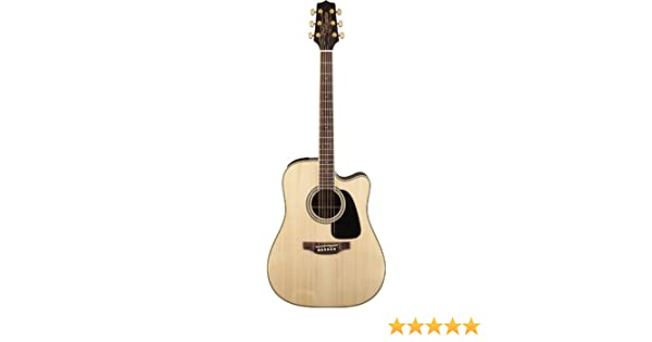 Musical Instruments & Gear Takamine Gd51ce-nat Dreadnought Acoustic/electric Guitar Natural Grade Products According To Quality Guitars & Basses