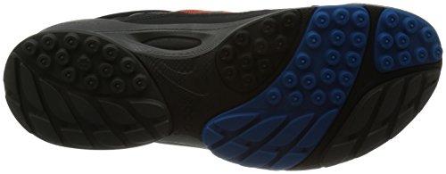 Ecco - Zapatillas para deportes de interior para mujer, color, talla 41 - schwarz/fire/dynasy