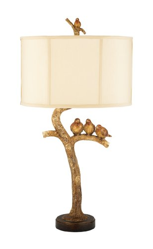 Bird Table Lamp - Dimond 93-052 Dimond Three Bird Table Lamp, 31.0