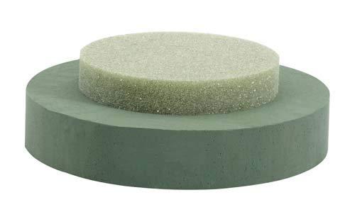 Oasis Floral Foam Riser fits Large Square Essentials Designer Bowl) (1 per Pack, 6 Packs per case) (Round (13X4''))