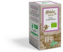 Aboca Aliviolas Bio - 90 Tablets Bottle.