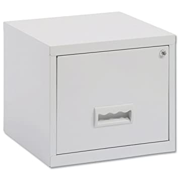 bcc35e9246e Pierre Henry 1-Drawer Maxi Filing Cabinet Steel A4 Grey Ref 99000   Amazon.co.uk  Office Products