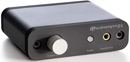 Audioengine D1 24-Bit DAC, Premium Desktop Digital To Analogue Converter and Headphone Amplifier ()