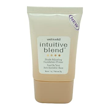 Wet n Wild Intuitive Blend Foundation + Primer, Shade Adjusting, Light 176, 1