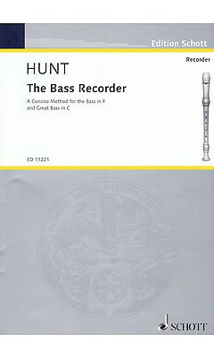 The Bass Recorder. A concise method for the bass in F and great bass in C ()