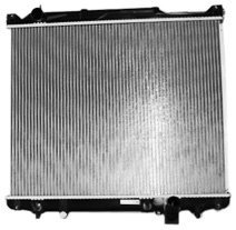 TYC 2933 Suzuki XL-7 1-Row Plastic Aluminum Replacement Radiator