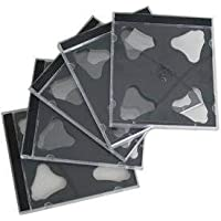 Generic - Estuche transparente doble para CD, DVD