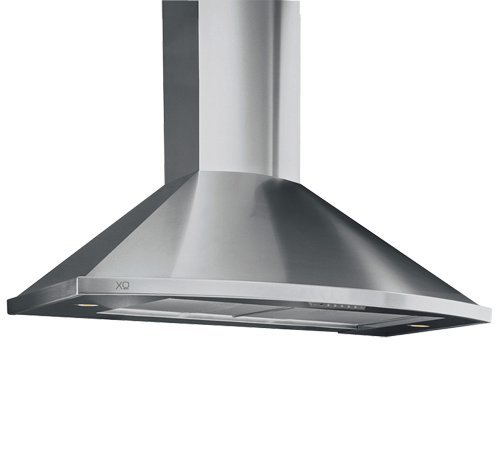 XOS30S XO Range Hood Stainless Steel Wall Mount Chimney Curved Style, 30