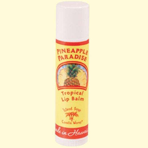 Island Soap and Candle Works Lip Balm Stick .15oz- Pineapple