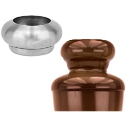 Buffet Enhancements Stainless Steel Chocolate Fountain Ball Shaped Topper fits 35 and 40 Inch Fountains
