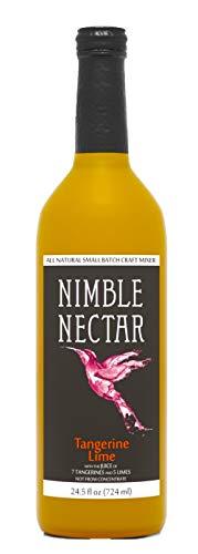 Nimble Nectar Tangerine Lime award-winning all-natural nectar for cocktails mimosas and refreshers, 9 - Mandarin Smoothie Orange
