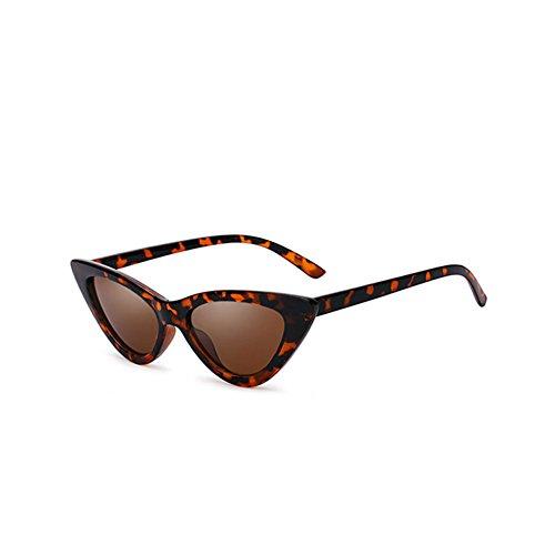 Estilo Gafas Harajuku UV Lady Sol 4 Triangulares Color con Sol 4 de DT Retro de Protección Gafas dSqdv