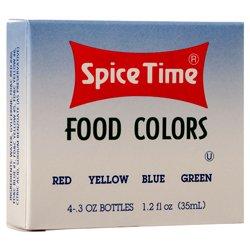 Wholesale FOOD COLORING KIT 0.3Z 4 ASST #SPICETIME: Amazon.com ...