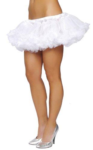 Ruffled Shorts Costumes (Petticoat (White;One Size))