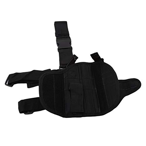 Winwinfly Ajustable Tactique puttee Cuisse Jambe Shoulder Pistolet Holster Sac de Chasse en Plein air Accessoires 3