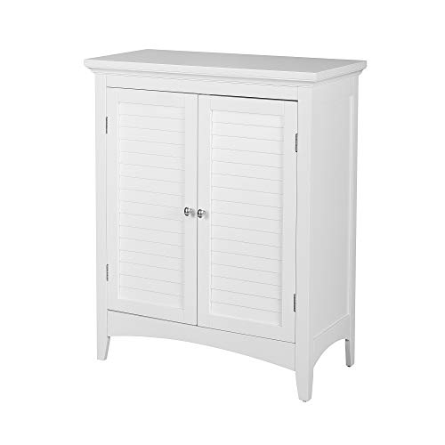 (Elegant Home Fashions Slone 2-Door Floor Cabinet in White)
