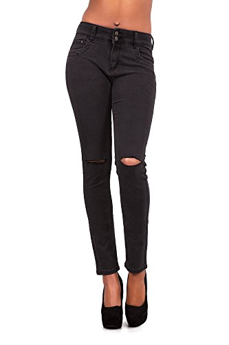 Jeans Lustychic Jeans Donna Black Lustychic Donna Lustychic Black Jeans S4Rqq