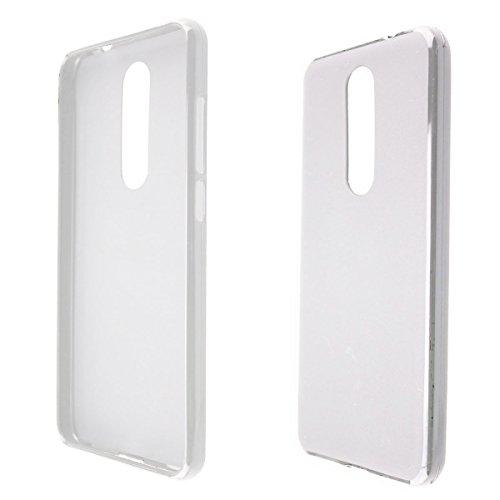 caseroxx Smartphone Case Wiko View Prime TPU-Case - Shock Absorption, Bumper Case in clear