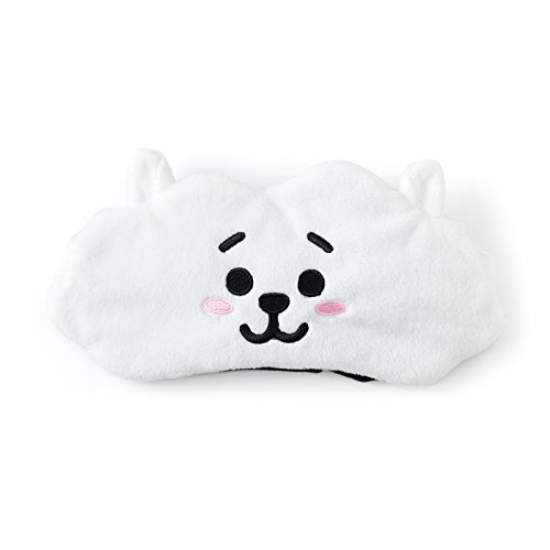BT21 RJ Sleeping Mask One Size White_Black