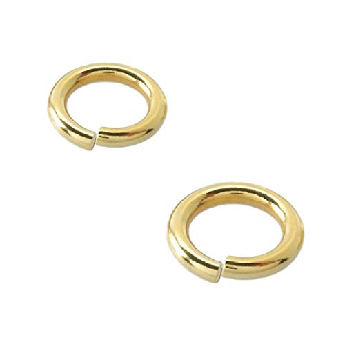 18 Ga.Heavy Wire Open Jump Ring 14 K Gold Filled