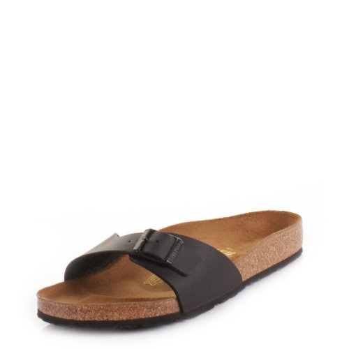 black madrid footbed sandals cDt7qH4