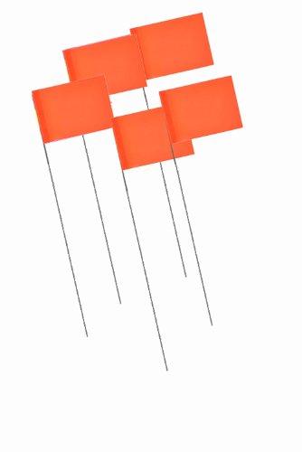 - Bon 84-846 Marking Flags, 1000-Pack, Fluorescent Orange