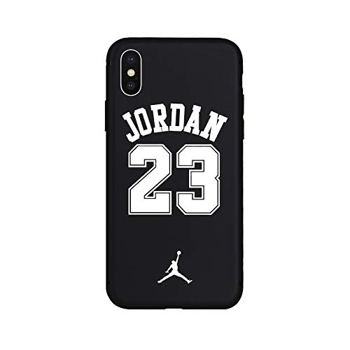 1 piece Brand NEW Sport Culture Jordan 23 Soft TPU Silicone Case for iPhone 6 6s Plus 7 7Plus 8 8Plus X Xs Max XR 5 5s SE Phone Cover