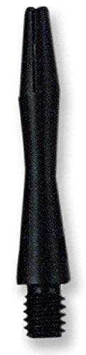 (US Darts - BLACK Aluminum Dart Shafts - 3 sets (9 shafts), 2BA Ex-Short (1 1/4 inch), O'rings)