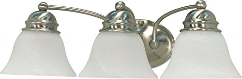 Light Alabaster Glass Sconce - 3