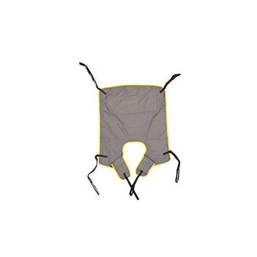 Hoyer Professional Six-Point Quick Fit Deluxe Sling-Large, With Green Binding,Each by Joerns Healthcare (Image #1)