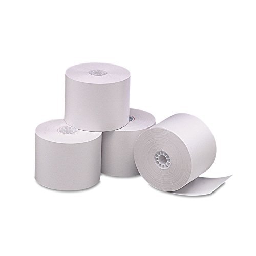 PM Company 05212 Single Ply Thermal Cash Register/POS Rolls, 2 1/4