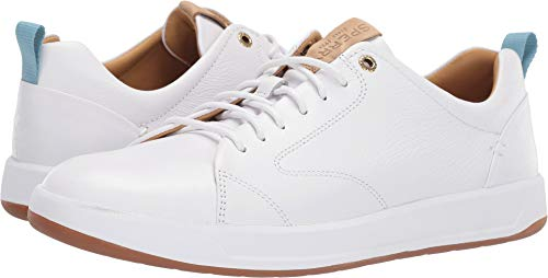 Platforms Leather Lambskin (SPERRY Men's Gold Cup Richfield LTT White 11 M US)