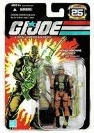 G.I. Joe 25th Anniversary: Roadblock (Heavy Machine Gunner) 3.75 Inch Action Figure ()