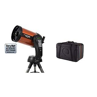Celestron NexStar 8 SE Telescope Bundle with Celestron Case for Nexstar 4/5/6/8-Inch Optical Tube (94003) (B07WR3FFBG) | Amazon price tracker / tracking, Amazon price history charts, Amazon price watches, Amazon price drop alerts