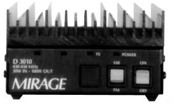 D-3010n 70cm Amplifier 5-45w In 100w Out: Amazon co uk: Electronics