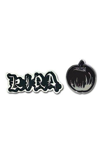 Death Note Kira Game - Death Note Kira & Apple Pin Set Miniature Novelty Toys,,