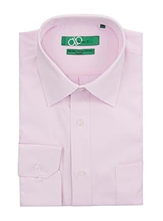 Bianco b men 39 s classic fit tone on tone diamond 2 ply pure for 2 ply cotton dress shirt