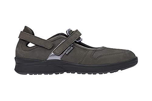 Mephisto Walking Shoes - Mephisto Women's Rejine Sneakers Grey Nubuck 9.5 M US